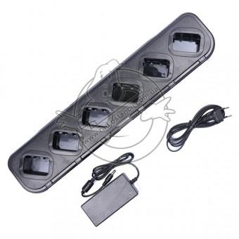 Шестиместное зарядное устройство для Baofeng BF-888S