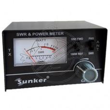 КСВ-метр, измеритель мощности Sunker SWR 430