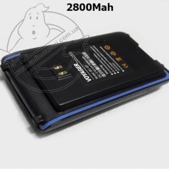 Усиленный аккумулятор для рации Voyager Q7/Q8/IP65