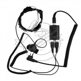 Гарнитура TAСTICAL PRO-A02 для рации Motorola (двухштыревая)